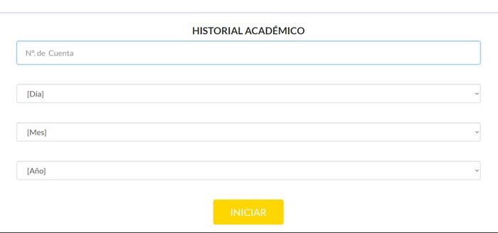 historial académico SAESC